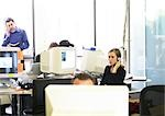 People working in office Stock Photo - Premium Royalty-Freenull, Code: 695-03384197