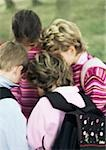 Children huddling, outdoors Stock Photo - Premium Royalty-Free, Artist: F1Online, Code: 695-03386767