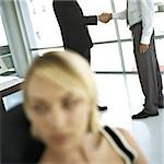 Businessmen shaking hands in office Stock Photo - Premium Royalty-Free, Artist: Sheltered Images, Code: 695-03388175