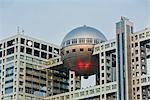 Fuji Television Building, Odaiba, Tokyo, Kanto Region, Honshu, Japan Stock Photo - Premium Rights-Managed, Artist: Rudy Sulgan, Code: 700-03392396