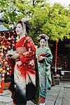 Geisha Maiko, Gion, Kyoto, Kyoto Prefecture, Kansai Region, Honshu, Japan Stock Photo - Premium Rights-Managed, Artist: Rudy Sulgan, Code: 700-03392399