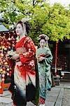 Geisha Maiko, Gion, Kyoto, Kyoto Prefecture, Kansai Region, Honshu, Japan