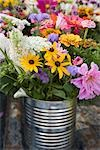 Flowers at Farm Stand Stock Photo - Premium Royalty-Free, Artist: Michael Eudenbach, Code: 600-03392448