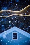 House During Snowstorm Stock Photo - Premium Rights-Managed, Artist: Michael Eudenbach, Code: 700-03392465