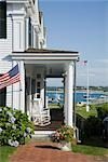 House on Water Street in Edgartown, Martha's Vineyard, Massachusetts, USA Stock Photo - Premium Rights-Managed, Artist: Michael Eudenbach, Code: 700-03392477