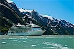 Royal Carribean cruise ship *Serenade of the Seas* in Endicott Arm near Dawes Glacier, Tracy Arm- Fords Terror National Wilderness, Southeast Alaska Stock Photo - Premium Rights-Managed, Artist: AlaskaStock, Code: 854-03392547