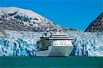 Royal Carribean cruise ship *Serenade of the Seas* in Endicott Arm near Dawes Glacier, Tracy Arm- Fords Terror National Wilderness, Southeast Alaska Stock Photo - Premium Rights-Managed, Artist: AlaskaStock, Code: 854-03392549