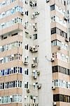 Corner of high rise apartment building Stock Photo - Premium Royalty-Free, Artist: Transtock, Code: 696-03394681
