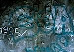 Graffiti, graffiti on stone wall. Stock Photo - Premium Royalty-Freenull, Code: 696-03396526