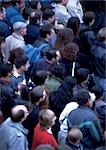 Crowd, high angle view Stock Photo - Premium Royalty-Freenull, Code: 696-03397047