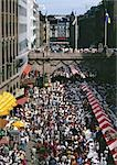 Sweden, Stockholm, crowd in street, high angle view Stock Photo - Premium Royalty-Free, Artist: Cusp and Flirt, Code: 696-03397155