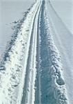 Sweden, tracks in snow Stock Photo - Premium Royalty-Free, Artist: IIC, Code: 696-03397274