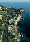 Monaco, aeiral view of coastline Stock Photo - Premium Royalty-Free, Artist: AWL Images, Code: 696-03398024