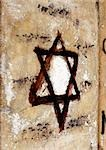 Star of David painted on wall, close-up Stock Photo - Premium Royalty-Free, Artist: Robert Harding Images, Code: 696-03398819