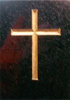 religious cross nobody - Christian cross, gilded, close-up Stock Photo - Premium Royalty-Freenull, Code: 696-03398820
