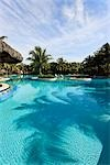 View of Swimming Pool,  Varadero, Cuba Stock Photo - Premium Rights-Managed, Artist: Jean-Yves Bruel, Code: 700-03403624