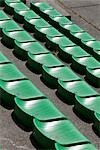 Seats at a Racetrack, Spa, Liege, Wallonia, Belgium Stock Photo - Premium Rights-Managed, Artist: Elke Esser, Code: 700-03403749