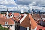 View of Old Town from Toompea, Tallinn, Estonia, Baltic States Stock Photo - Premium Rights-Managed, Artist: Siephoto, Code: 700-03404315