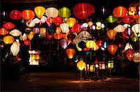 Lanterns, Hoi An, Quang Nam Province, Vietnam Stock Photo - Premium Royalty-Freenull, Code: 600-03404686