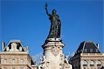 Place de la Republique, Paris, France Stock Photo - Premium Rights-Managed, Artist: Damir Frkovic, Code: 700-03404643