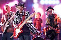 Boys in Rock Band Stock Photo - Premium Royalty-Freenull, Code: 600-03404716