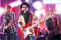 Boys in Rock Band Stock Photo - Premium Royalty-Freenull, Code: 600-03404717