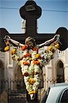 Effigy of Christ on the Cross outside Basilica of Our Lady of the Mount, Mumbai, India Stock Photo - Premium Rights-Managed, Artist: Matt Brasier, Code: 700-03405553
