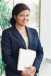 Portrait of Businesswoman Stock Photo - Premium Rights-Managed, Artist: Kevin Dodge, Code: 700-03406461