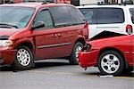 Cars after Minor Traffic Accident Stock Photo - Premium Rights-Managed, Artist: Rommel, Code: 700-03407554