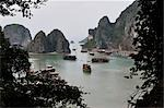 Boats in Halong Bay, Vietnam Stock Photo - Premium Rights-Managed, Artist: Jochen Schlenker, Code: 700-03407674