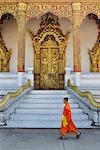 Wat Nong Sikhounmuang, Luang Prabang, Laos Stock Photo - Premium Rights-Managed, Artist: Jochen Schlenker, Code: 700-03407704