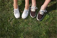 Teenage Couple's Feet Stock Photo - Premium Rights-Managednull, Code: 700-03407877