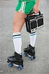 Woman Roller Skating Stock Photo - Premium Rights-Managed, Artist: Ty Milford, Code: 700-03407883