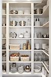 Kitchen Cupboard Stock Photo - Premium Rights-Managed, Artist: Michael Mahovlich, Code: 700-03407939