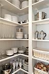 Kitchen Cupboard Stock Photo - Premium Rights-Managed, Artist: Michael Mahovlich, Code: 700-03407940