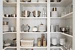 Kitchen Cupboard Stock Photo - Premium Rights-Managed, Artist: Michael Mahovlich, Code: 700-03407941