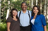 Portrait of Father and Daughters Stock Photo - Premium Rights-Managednull, Code: 700-03407986