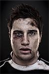 Portrait of Rugby Player Stock Photo - Premium Rights-Managed, Artist: Brian Kuhlmann, Code: 700-03408100