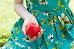 Woman's hand holding apple. Stock Photo - Premium Royalty-Free, Artist: RW Photographic, Code: 649-03417457