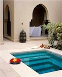 Four Seasons Resort Hotel,plunge pool at the outdoor spa Stock Photo - Premium Rights-Managed, Artist: AWL Images, Code: 862-03437023