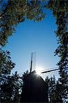 A Windmilll at the Latvian Ethnographic Open-Air Museum Stock Photo - Premium Rights-Managed, Artist: AWL Images, Code: 862-03437207