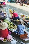 Damnoen Saduak Floating Market, in Ratchaburi Province, Thailand Stock Photo - Premium Rights-Managed, Artist: dk & dennie cody, Code: 700-03439315