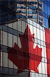 Reflection of Canadian Flag on Building, Vancouver, British Columbia, Canada Stock Photo - Premium Rights-Managed, Artist: Ed Gifford, Code: 700-03439569