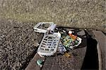 Broken Cell Phone Stock Photo - Premium Rights-Managed, Artist: Ron Fehling, Code: 700-03439592