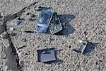 Broken Cell Phone Stock Photo - Premium Rights-Managed, Artist: Ron Fehling, Code: 700-03439599