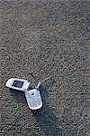 Broken Cell Phone Stock Photo - Premium Rights-Managed, Artist: Ron Fehling, Code: 700-03439606