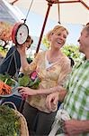 Couple Shopping at a Farmer's Market, Santa Cruz, California, USA Stock Photo - Premium Rights-Managed, Artist: Ty Milford, Code: 700-03439955