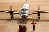 Small Plane at San Francisco International Airport, San Francisco, California, USA Stock Photo - Premium Rights-Managednull, Code: 700-03440138