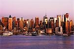 Midtown Manhattan at Dusk, New York City, New York, USA Stock Photo - Premium Rights-Managed, Artist: Jeremy Woodhouse, Code: 700-03440217