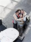 Business people hugging Stock Photo - Premium Royalty-Free, Artist: Aflo Sport               , Code: 635-03441194